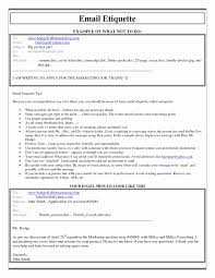How To Email Resume For Job Format Of Email for Sending Resume Fresh Gallery Of Cover Letter 73