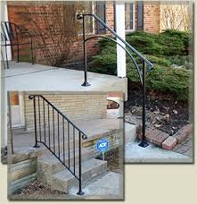 outdoor metal stair railing. Iron Handrails For Outdoor Steps - Yahoo Image Search Results (Patio Step Handrail) Metal Stair Railing I