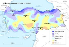 turkey climate map. Simple Map Geography Turkey  Climate Map In F