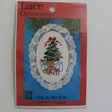 Designs For The Needle Inc Tree Cross Stitch Kit Lace Ornament 1212 Designs For The