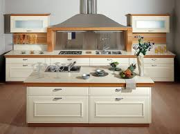 VIEW IN GALLERY Modern Kitchen Cabinet Design Ideas With Wooden Kitchen  Cabinet Doors White Laminate With Beige Wooden Laminate