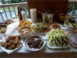 Finger Foods Galore Source  Food Ideas for Housewarming Party Canap