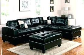 black leather sectional with chaise black sectional couches large size of sectional sofa for