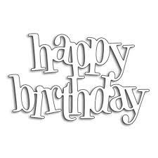Album Word Online Shop Happy Birthday Word Dies Cut Metal Cutting Dies Stencils