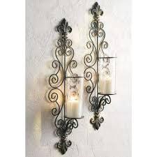 antiqued bronze della corte wall sconce