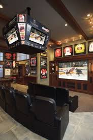 Sports man cave Industrial Man Cave Ideas Binadesaco How To Make The Perfect Man Cave My Mvp Shops