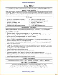 Billing Specialist Job Description Resume Medical Billing And Coding Specialist Job Description Example 4