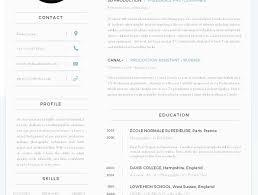 Resume Templates Free Download Pdf Fresh Fascinating Best Resume