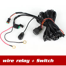 popular spotlight wiring harness buy cheap spotlight wiring wire control relay switch wire harness for spotlights hid drive work light led work light bar
