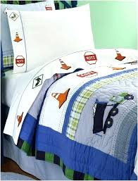 construction bedding set twin cat full size
