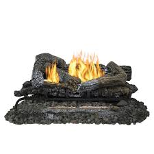 pleasant hearth 30 inch heritage series vent free gas log set hover to zoom