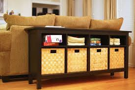 sofa table with storage baskets. Full Size Of Sofa:winsome Sofa Table With Storage Baskets Floor Marvelous O