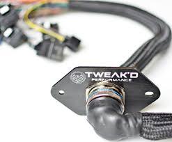 toyota jz jz and vvti harnesses tweakd performance mil spec firewall connector