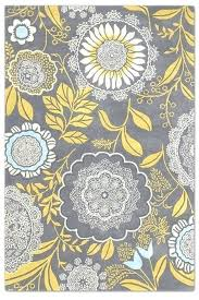 yellow gray rug designer wall flower rugs butler collection interior hand woven new wool x make yellow gray rug