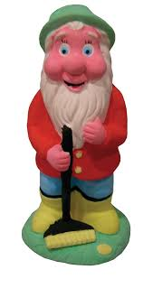 childrens paint your own garden gnome set childrens