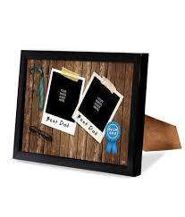 bluegape fathers day gifts multicolour wood personalised fab photo frame 1pc