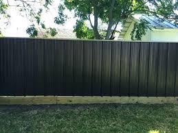 Image Red Black Sheet Metal Fence New England Shakespeare Black Sheet Metal Fence All Home Decor Find Sheet Metal Fence