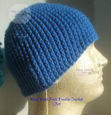 Mens Crochet Beanie Pattern Mesmerizing Mens Front Post Double Crochet Beanie AllFreeCrochet