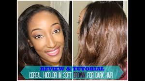 Loreal Hicolor Soft Brown Tutorial And Review 30day Series 2