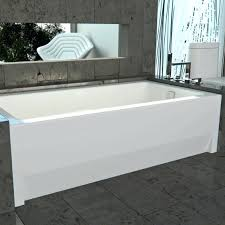kohler bellwether alcove bathtub tub with skirt for 3 wall 60 x 30