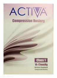 Activa Compression Hosiery Size Chart Activa Class 1 Compression Hosiery Thigh Length Large Sand