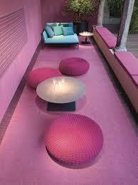 puf de jardín redondo s by paola lenti diseño francesco rota furniture chairsliving room furnitureoutdoor