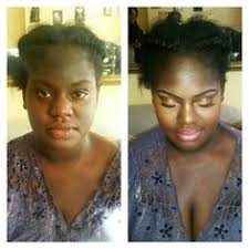 bridal before and after on dark skin for more makeup inspiration follow me on insta