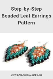 Beaded Earring Patterns For Beginners Magnificent Ideas