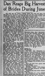 Iva Bishop and Wayne Stemson (Stinson)wedding article - Newspapers.com