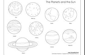 Solar System Coloring Pages Pdf At Getdrawingscom Free For