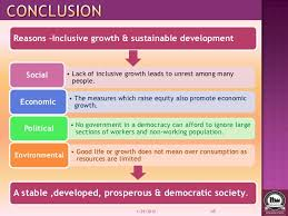 inclusive growth and sustainable development of constructive role 45 reasons inclusive growth sustainable development