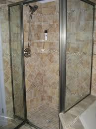 beauteous bathroom decoration using various tile shower wall design enchanting image of bathroom decoration using