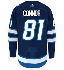 Connor Kyle Hockey Jets Jersey Home Adidas Winnipeg Nhl Authentic