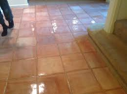 custom stained white wash saltillo tiles