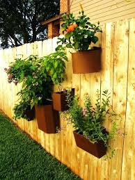 hanging fence planters planters fence flower box how to hang flower pots on  a fence decoration