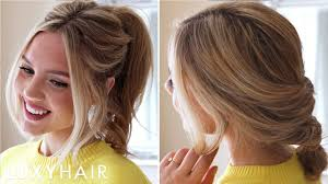 Luxy Hair Style 3 easy running late hairstyles youtube 8261 by wearticles.com