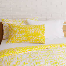 trene yellow patterned kingsize duvet cover set by martha coates for habitat 50 habitat
