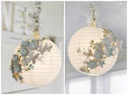 how to turn plain paper lanterns into swanky home decor how to