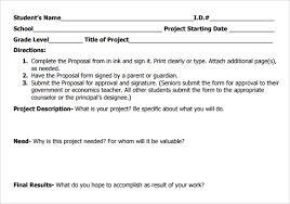 Community Service Proposal Template Sample Service Proposal 16