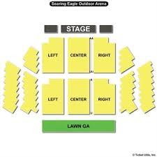Soaring Eagle Outdoor Venue Seating Chart Soaring Eagle Casino Show Seating