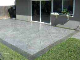 stamped concrete patio cost cement patio cost per square foot fresh best super sweet stamped concrete stamped concrete patio cost