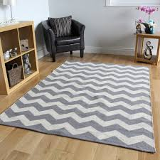 Modern Rugs For Living Room Grey Chevron Flatweave Modern Rugs Small Large Easy Clean Hand