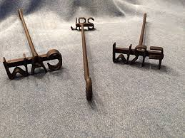 woodworking branding iron. personalized miniature steak branding iron by sloan brands woodworking