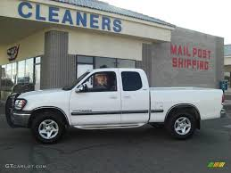 2000 Natural White Toyota Tundra SR5 Extended Cab #16757989 ...