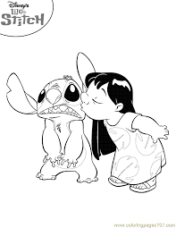 lilo and stitch printable coloring pages disney coloring book