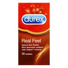 <b>Durex Real Feel</b> Condoms 12 Pack - Clicks