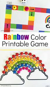 This ensures that both mac and windows users can download the coloring sheets and that your coloring pages aren't covered with ads or other web site. Printable Rainbow Colors Game
