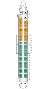 Embraer E90 Seating Chart Seat Plan For The Britishairways Embraer 190 British