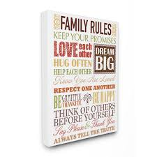 family rules autumn colors by