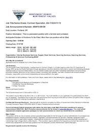Contract Specialist Resume Exle Best Photos Of Resumes For